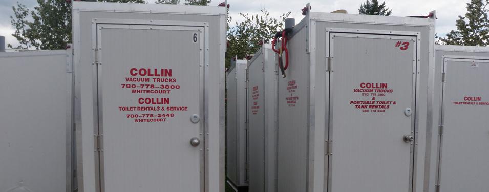 Toilet Rentals | Collin Vacuum Trucks